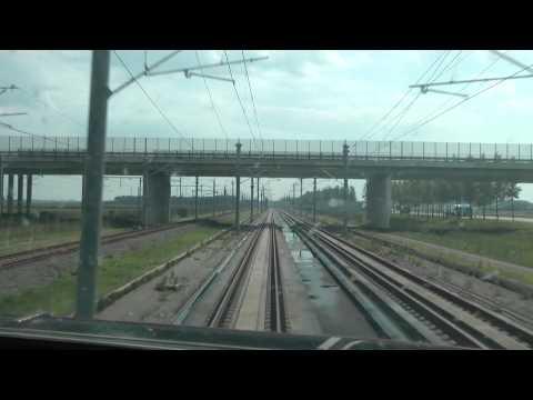 Rotterdam-Antwerpen 300 Km/h, Thalys Cab Ride / Cabinerit
