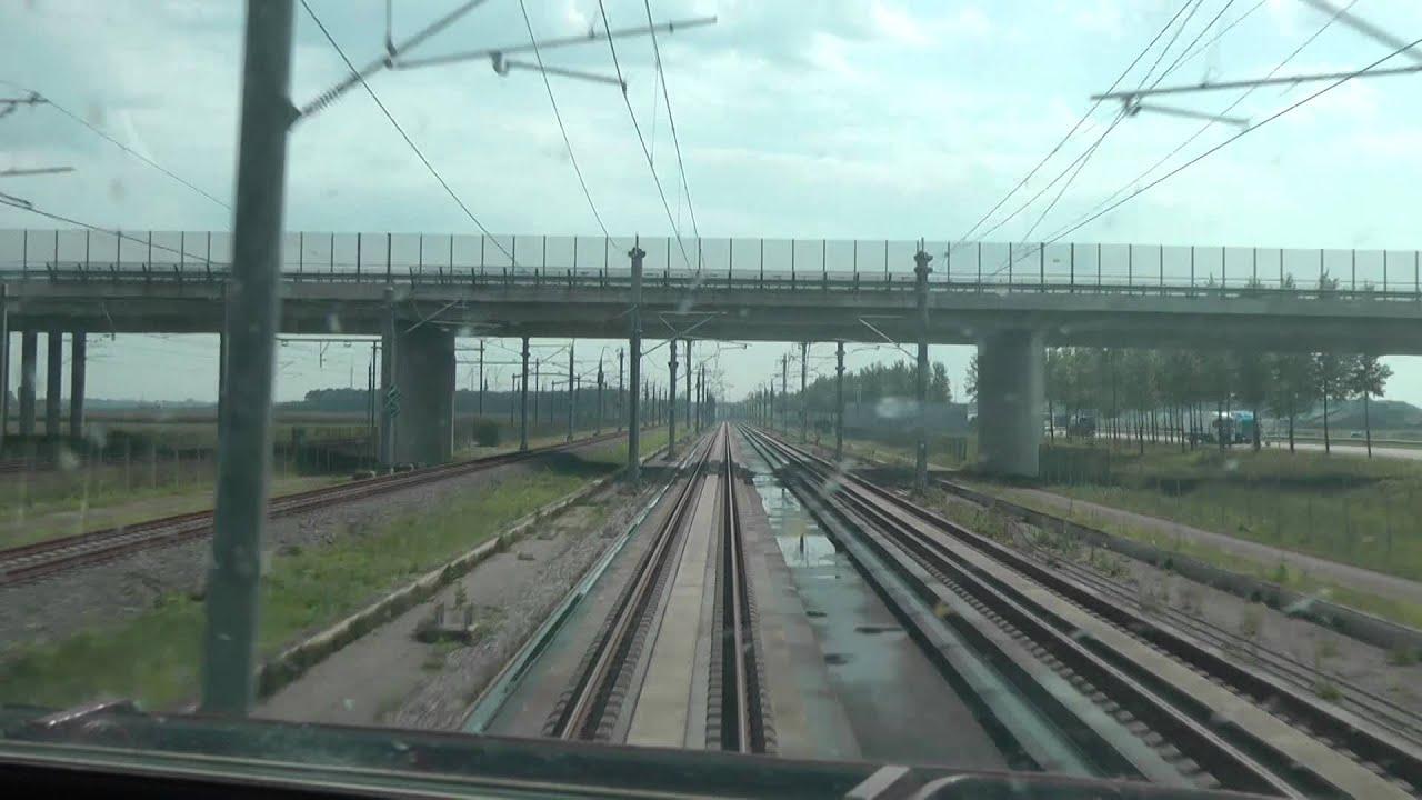 Αποτέλεσμα εικόνας για Rotterdam-Antwerpen 300 km/h, Thalys cab ride