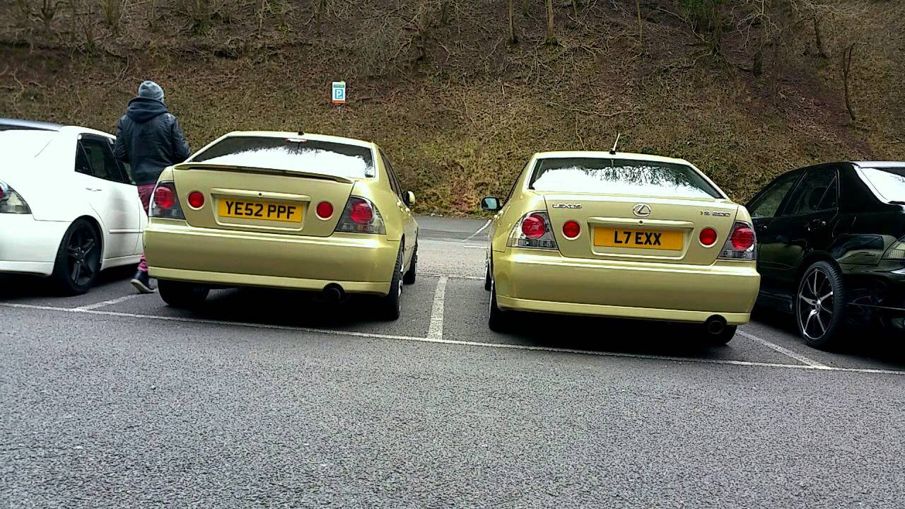 Lexus is200/is300/Altezza car meet in cheddar on Sunday 01 ...