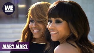 BTS: Get Glam With the Marys! | Mary Mary | WE tv