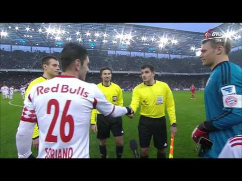 1st Half - Red Bull Salzburg vs FC Bayern München - 18/01/2014