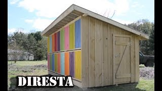 DiResta's Cut Bee House (OLD VIDEO)