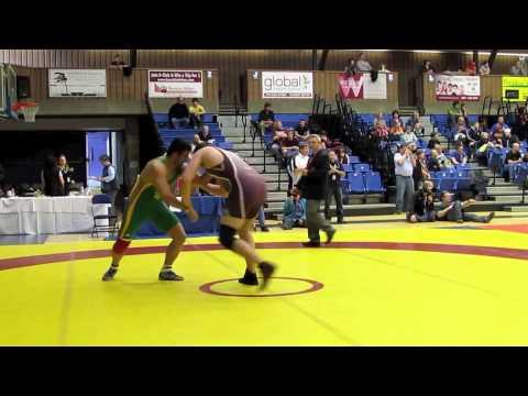 CIS Championships 2012: 130 kg Aaron Misner vs. Daniel Oloumi