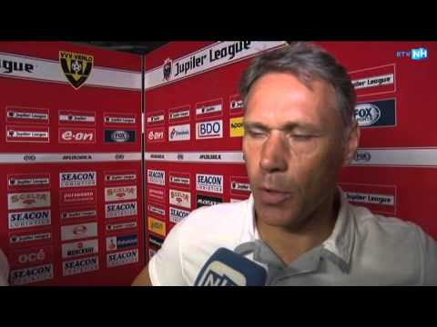 Marco van Basten na VVV - AZ