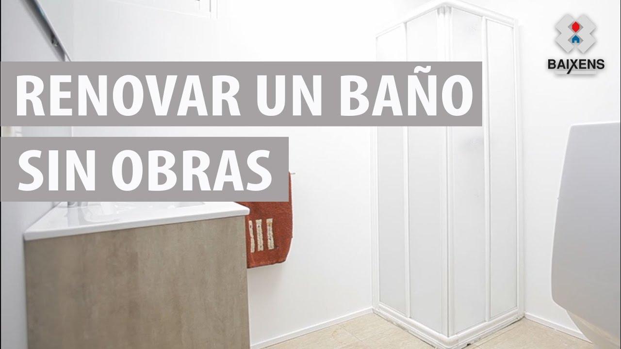 Renovar un baño sin obras - Cubrecerámica - Baixens - YouTube