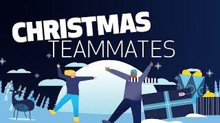 SPURS CHRISTMAS TEAMMATES!