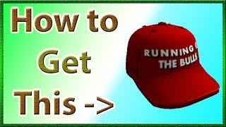 How to Get the Encierro Cap on ROBLOX (Free Item for the Running of the Bulls)   2019 July