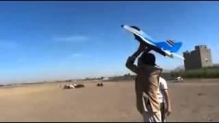▶ يمني اخترع طائرة حربية   YouTube