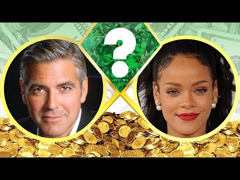 WHO'S RICHER? - George Clooney Or Rihanna? - Net Worth Revealed! (2017)