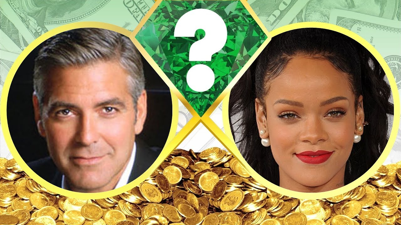WHO'S RICHER? - George Clooney or Rihanna? - Net Worth ...