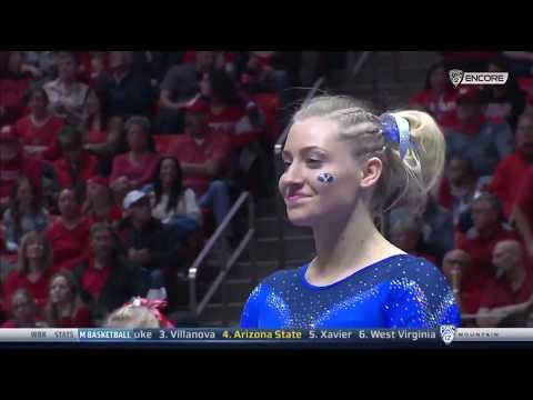 Shannon Hortman-Evans (BYU) - Balance Beam (9.550) - BYU at Utah 2018