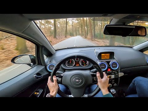 Straight Pipe Opel Corsa OPC - POV Test Drive - 0-100 Km/h, Pops And Bangs Etc!