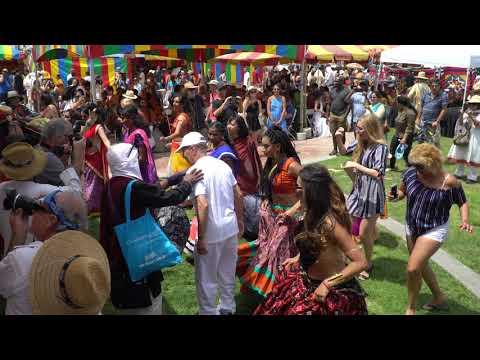 LA Ratha Yatra -- 05 Aug. 2018 -- Temple Bhajan Band