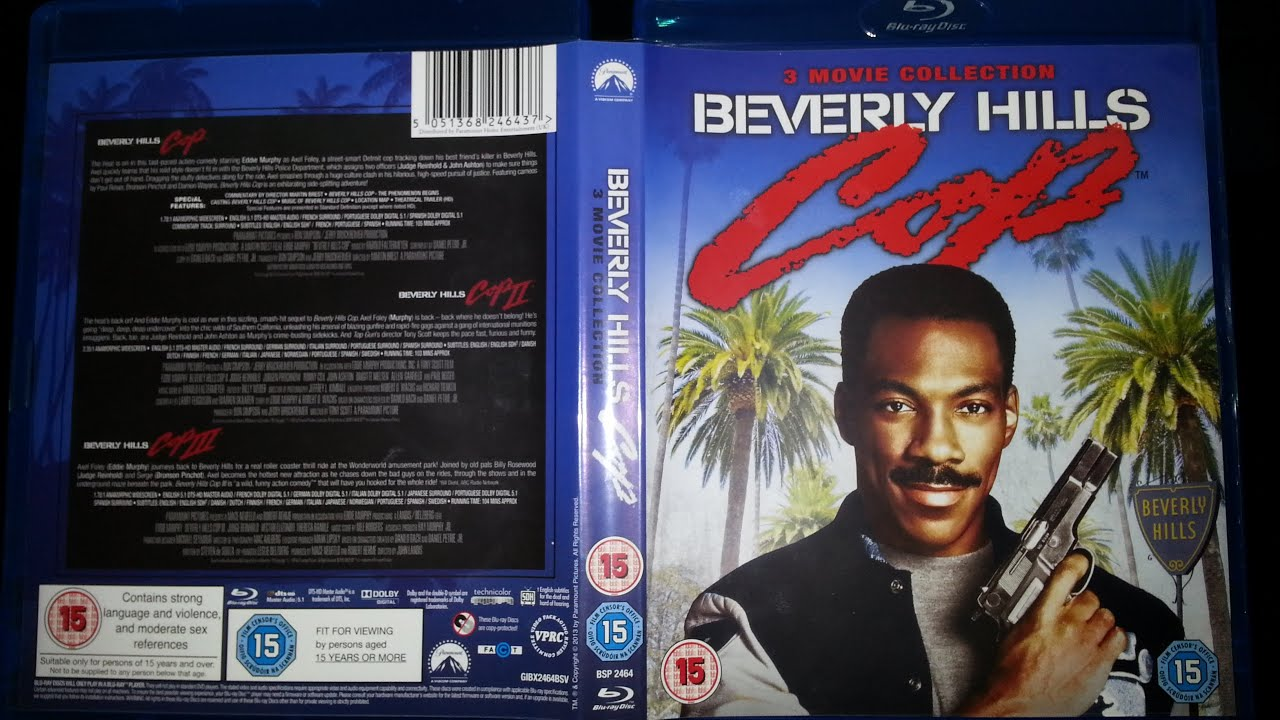 beverly hills cop movie collection bluray box set product