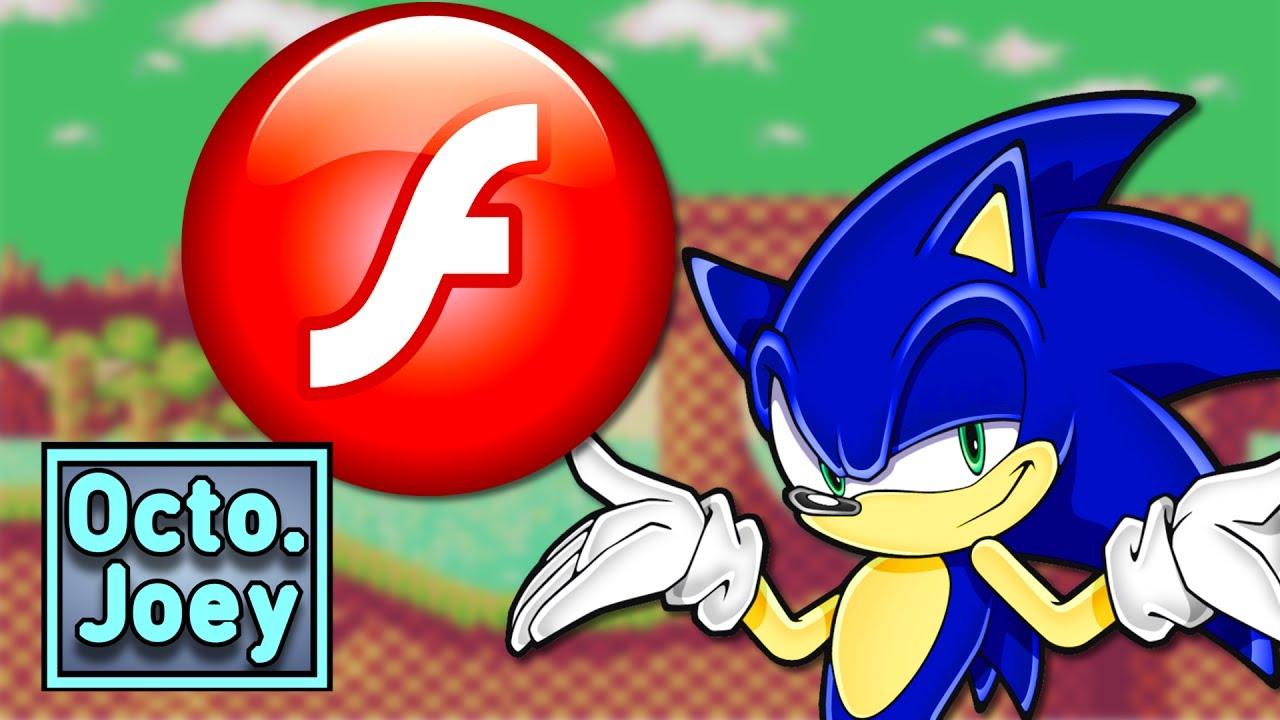 Sonic The Hedgehog Flash Games Octopus Joey Youtube