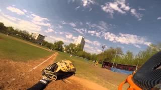 Бейсбол. Еноты - Ястребы 01.05.2014
