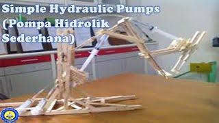 Repeat youtube video Pompa Hidrolik Sederhana