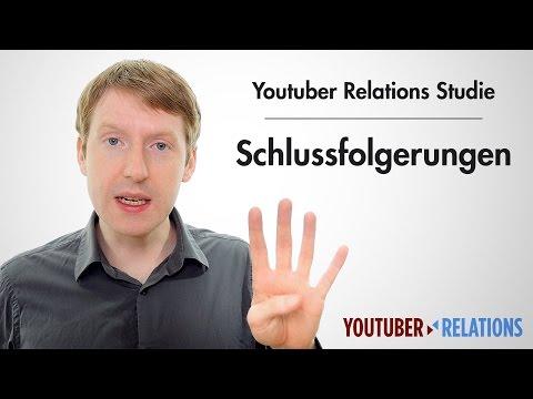 Youtuber Relations Studie - Teil 16: Schlussfolgerungen