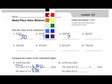 Go Math Lesson 1 1