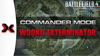 Battlefield 4 Commander Mode Gameplay - Tips tricks and killing wookies!