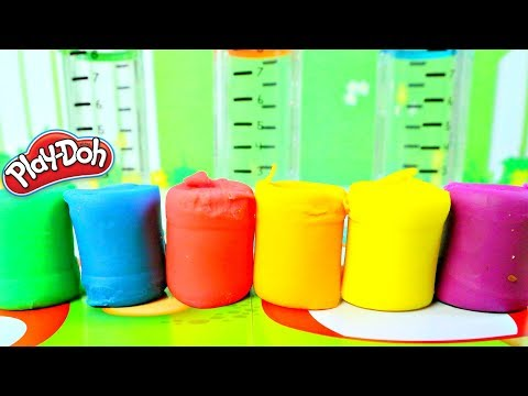 Plastilina Aprende los Colores y Figuras con Play Doh Shape and Learn|Mundo de Juguetes