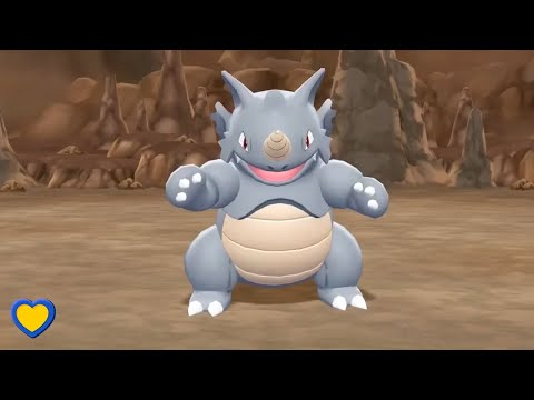 HOW TO GET Rhydon In Pokémon Let's Go Pikachu & Eevee