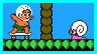 Скачать Adventure Island II NES