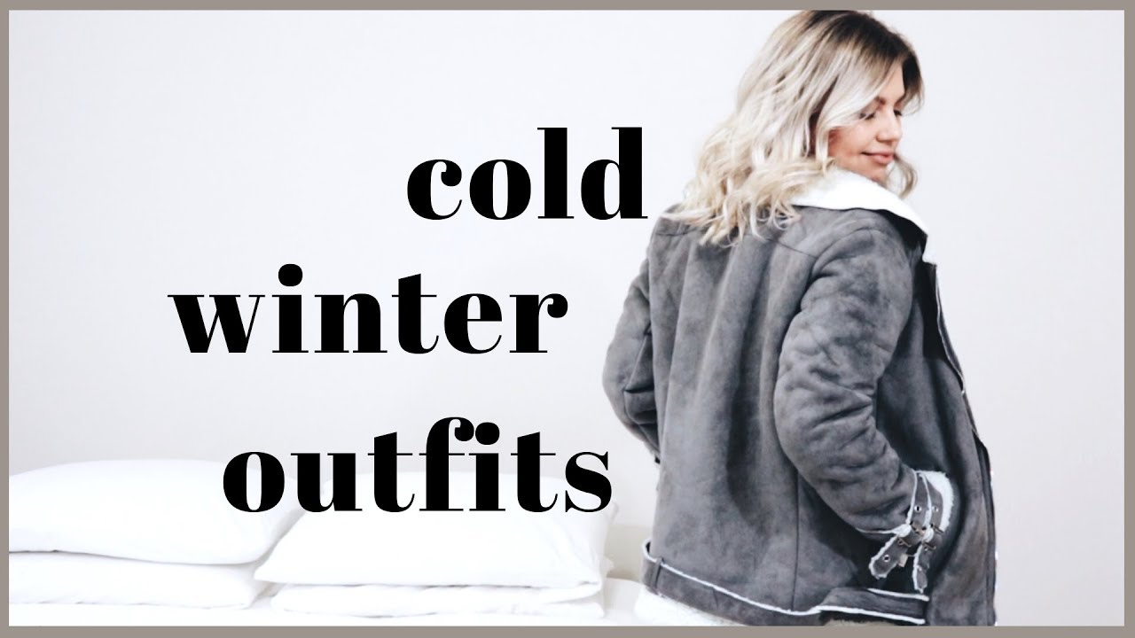 WINTER OUTFITS IDEAS | Freezing Cold Weather 9