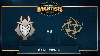 G2 vs NiP - Inferno - Semi-final - DreamHack Masters Malmö 2017