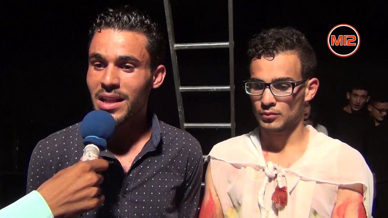 العرض الأول لمسرحية لهيب الروح لفرقة بلدية دوز للتمثيل