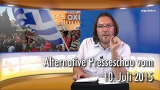 Marco's Alternative Presseschau vom 10.07.2015