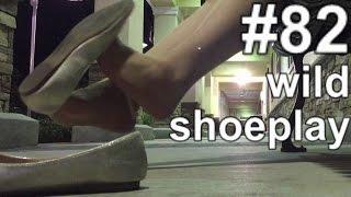 [AoS082] 👠 wild nylon shoeplay continued