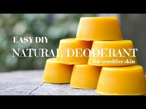 *EASY DIY* Natural Deodorant for sensitive skin!