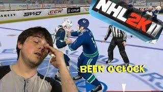 NHL 2K11 (Wii) - Beer O'Clock