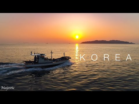 Korea Drone 4K - Land of Morning Calm (Busan, Geoje, Seoul) ©