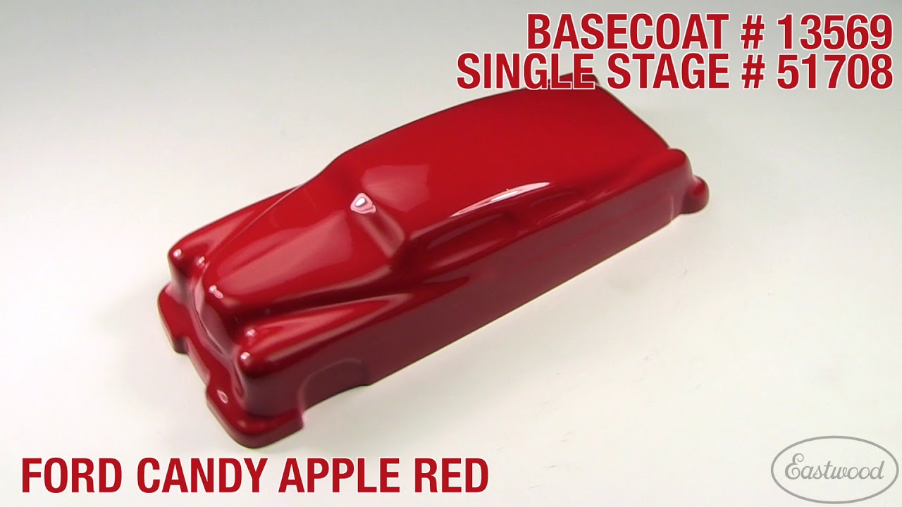 Eastwood '66-'69 Ford Candy Apple Red 3:1 Single Stage Paint