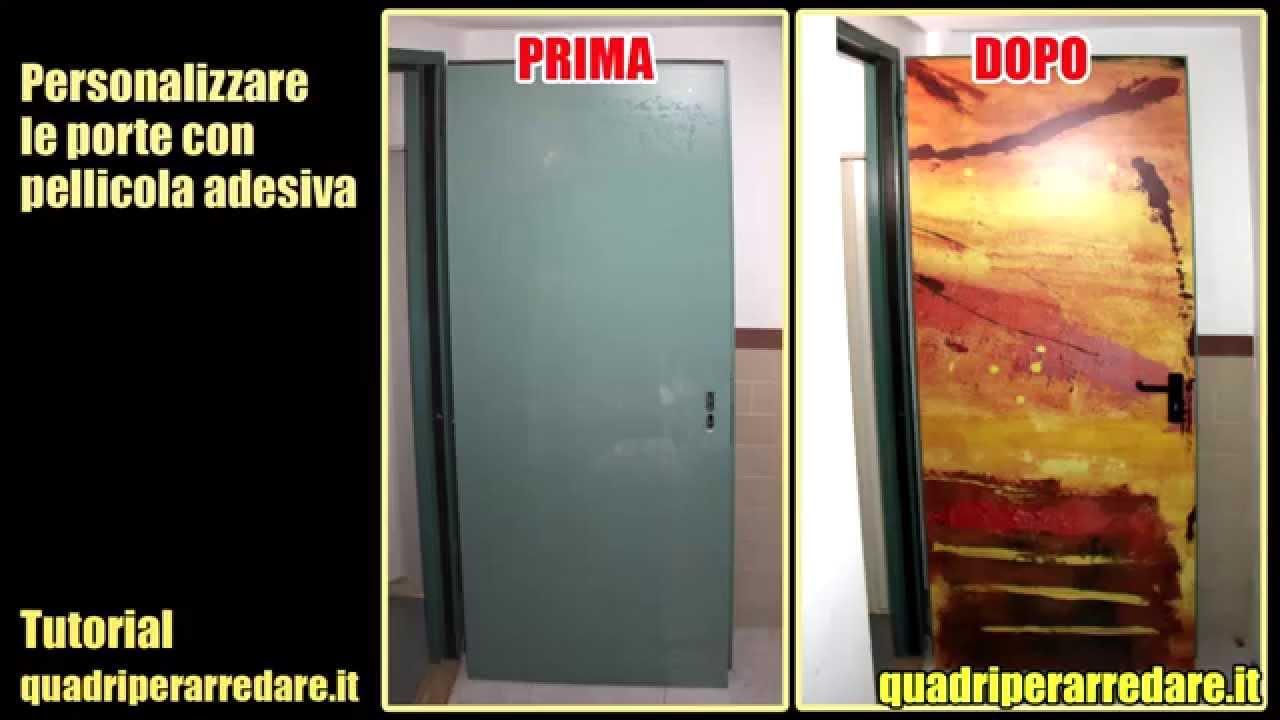 Adesivi per porte e armadi come applicarli sulle porte for Porte in vetro leroy merlin