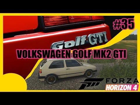 Volkswagen Golf Mk2 GTI   Forza Horizon 4 #35 Thrustmaster T300RS thumbnail
