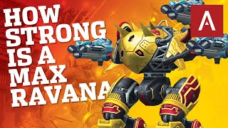 War Robots - How Strong Is The New Robot RAVANA At Max Level? | WR MK2 Gameplay