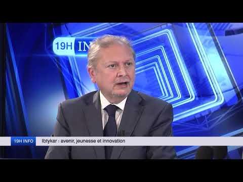 Dernier passage TV de Sammy Oussedik avant son décès. 19H INFO de Moncef Aït-Kaci