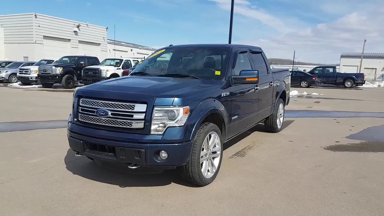 pre owned 2014 f 150 limited supercrew youtube. Black Bedroom Furniture Sets. Home Design Ideas