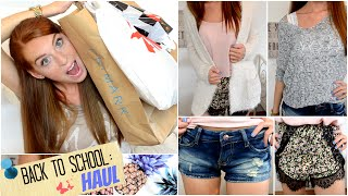 BACK TO SCHOOL HAUL 2014 mit PRIMARK, H&M, NEW YORKER + SHEINSIDE | BACK TO SCHOOL #2 Thumbnail
