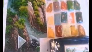 Рисование камнями, алмазная техника. Пример выполнения.(Если Вам по душе вышивание нитками или бисером, но хотелось бы попробовать какую-нибудь новую технику, или..., 2014-06-20T11:25:43.000Z)