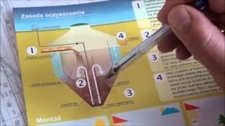 Jak działa oczyszczalnia Feliksnavis - rysunek