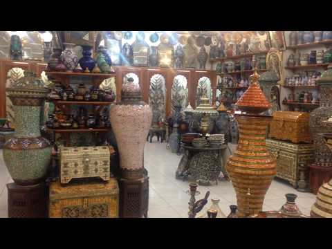 The Moroccan Antique and Souvenir Shops In Tangier, Morocco #tangier #morocco #antique #souvenir