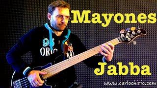 Mayones Jabba 5 Bass Test Slap technique Carlo Chirio