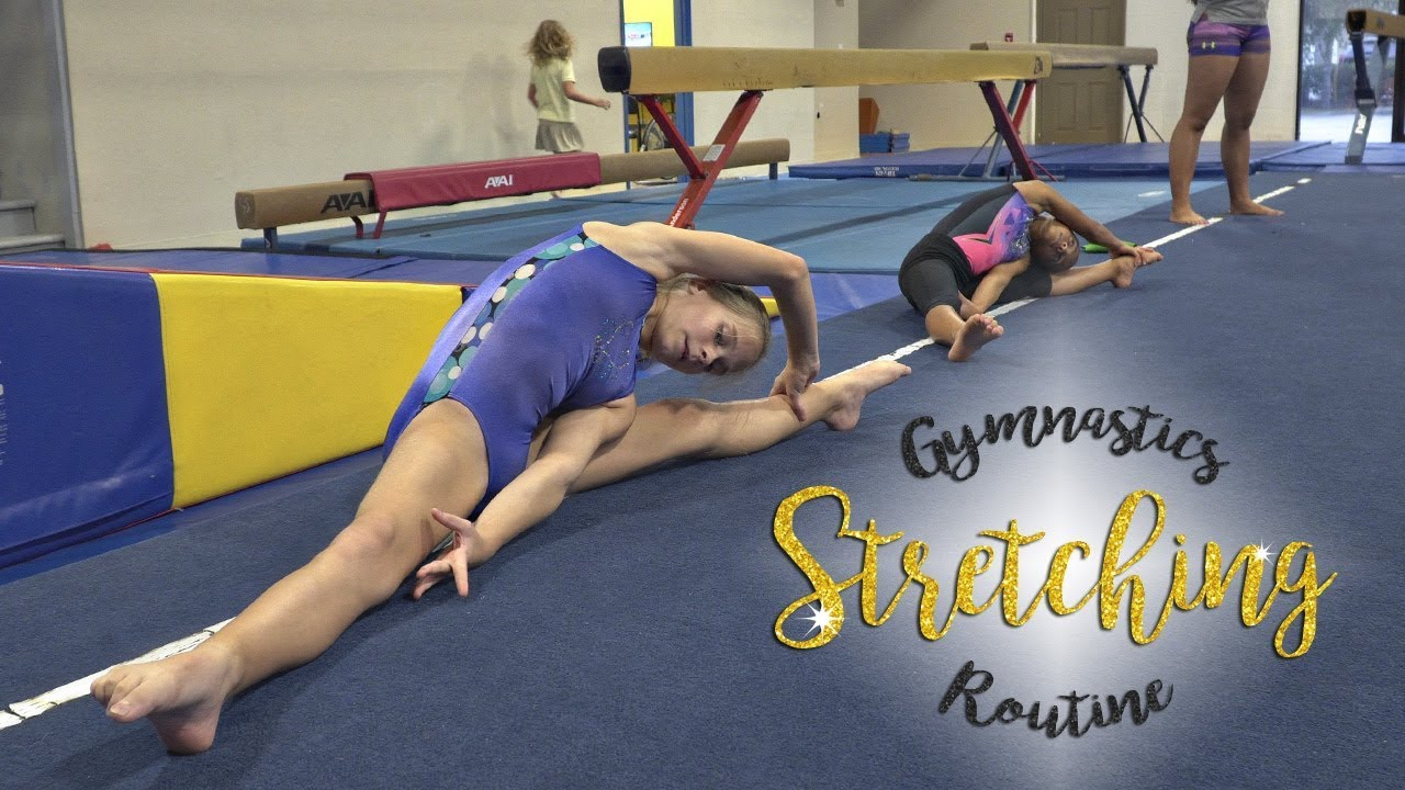 Gymnastics Flexibility Stretching Routine| Kyra SGG