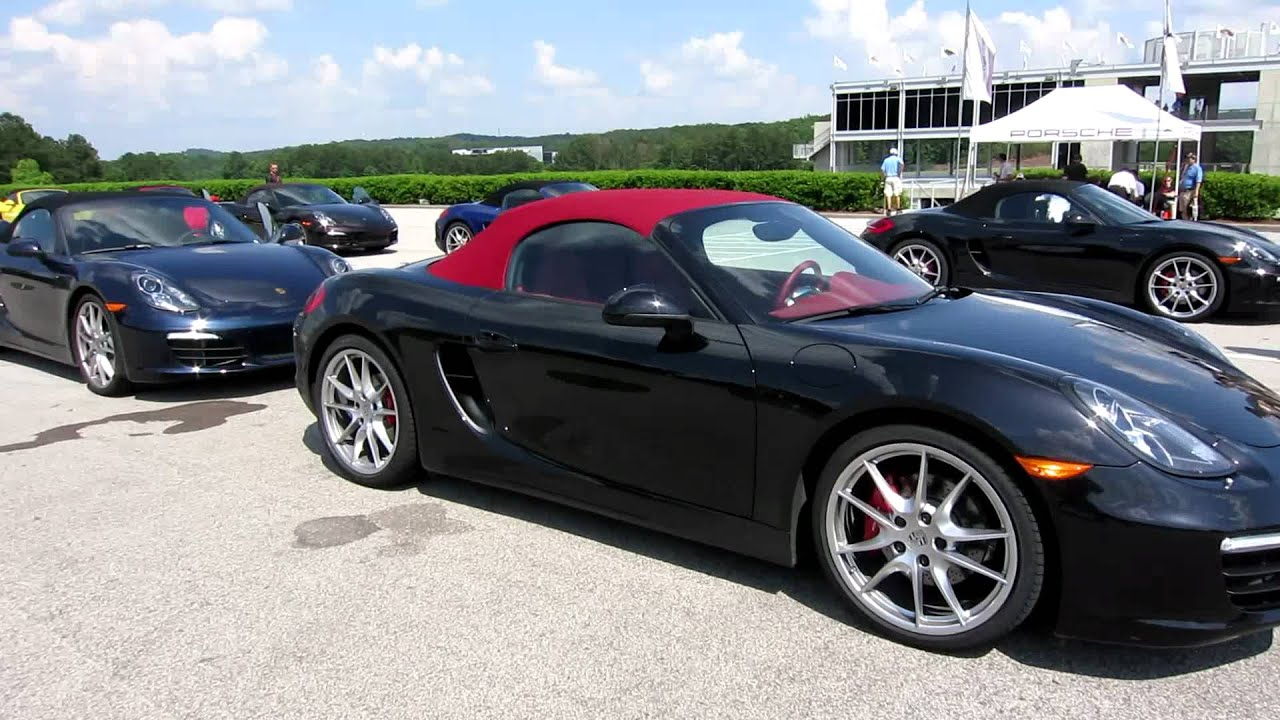 Barber Motorsports Park >> Porsche 981 Boxster S Street Drive at Barber Motorsports Park with Porsche Sports Driving School ...
