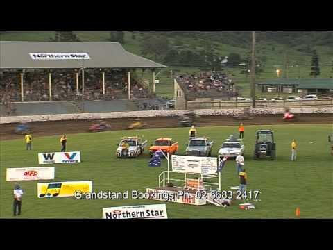 Speedcar stampede TVC 12/2/11 Lismore Speedway