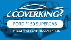 How to Install 2009-2012 Ford F150 SuperCab Custom Seat Covers| COVERKING®